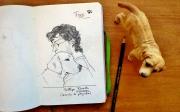 desenho - sketchbook de fellipe ernesto 1
